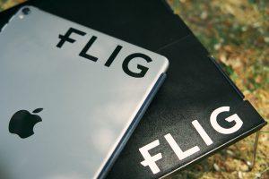 FLIGステッカーをiPadに